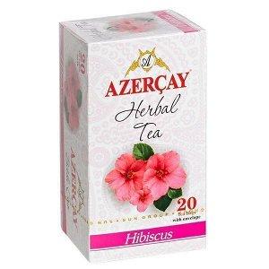 Чай АЗЕРЧАЙ Гибискус 20 пакетиков с конвертом