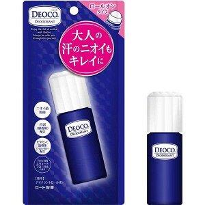 Rohto Deoco Deodorant. Роликовый дезодорант для устранения неприятного запаха. 30мл
