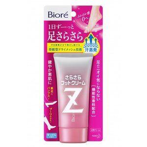 Крем-дезодорант для ног с разглаживающим эффектом Biore Z, KAO
