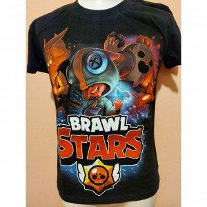 Подростковая футболка Brawl Stars Герои 1105