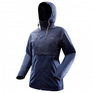 Куртка водонепроницаемая для походов на природе мужская NH500 Imper QUECHUA