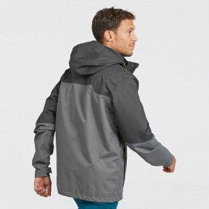 Куртка непромокаемая для горных походов MH100 мужская QUECHUA