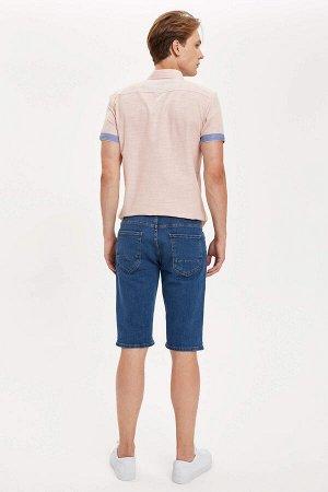 шорты Размеры модели: рост: 1,89 грудь: 98 талия: 76 бедра: 96 Надет размер: 32 Elastan 1%, Хлопок 99%