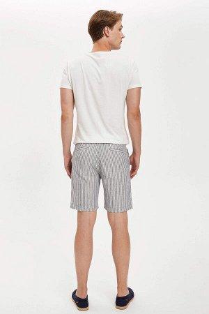 шорты Размеры модели: рост: 1,89 грудь: 98 талия: 76 бедра: 96 Надет размер: 30  Хлопок 60%, Полиэстер 40%
