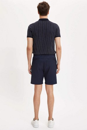 шорты Размеры модели: рост: 1,89 грудь: 100 талия: 81 бедра: 97 Надет размер: 30  Хлопок 98%,Elastan 2%