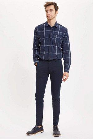 рубашка Размеры модели: рост: 1,9 грудь: 100 талия: 84 бедра: 101 Надет размер: L  Полиэстер 59%, Хлопок 35%, Вискоз 6%