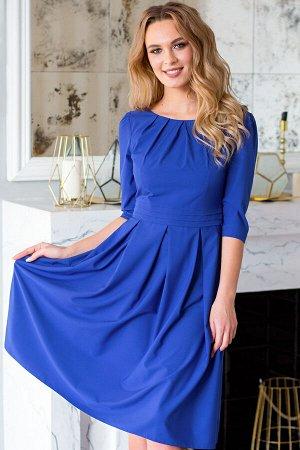 Платье Ольга цвет синий (П-100-7)