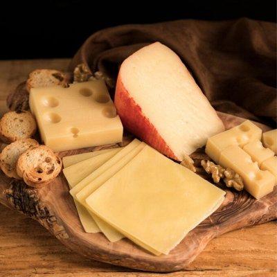 МОЙ ХОЛОДИЛЬНИК - молоко, смета и кисломолочные продукты — Сыр порционный (ломтиками, для бутербродов) — Сыры