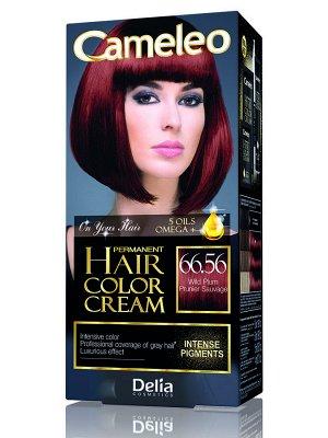 DELIA CAMELEO OMEGA 5 Крем-краска для волос 66.56 Дикая слива (*12)