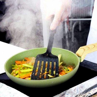 Любимая посуда и бытовые мелочи◇Акции и Скидки от поставщика — Посуда Amercook Olive Stone — Классические сковороды