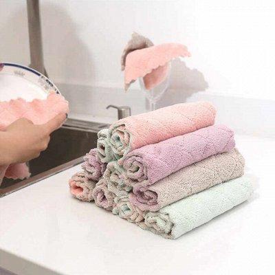 Любимая посуда и бытовые мелочи◇Акции и Скидки от поставщика — Губки, салфетки, полотенца — Кухонные полотенца