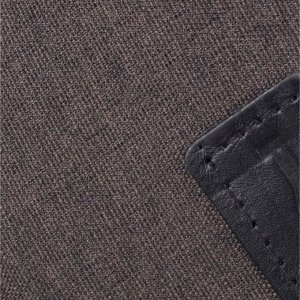 Сумка поясная, отдел на молнии, цвет коричневый
