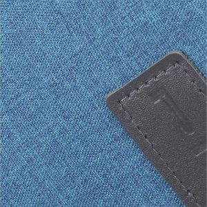 Сумка поясная, отдел на молнии, цвет бирюзовый