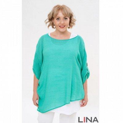 Женская одежда L*I*N*A -102. От 42 до 64 размера. — Лето. Размеры 46-64 — Платья