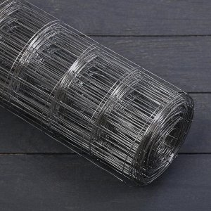 Сетка оцинкованная, сварная 0,5 ? 10 м, ячейка 50 ? 50 мм, d = 1 мм, металл
