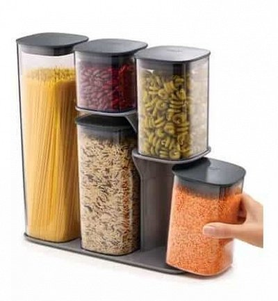 Любимая посуда и бытовые мелочи◇Акции и Скидки от поставщика — Ёмкости для сыпучих продуктов — Системы хранения