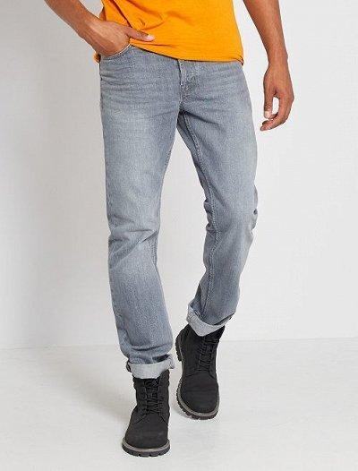 Одежда из Франции для всей семьи! — Мужчины. Джинсы. — Прямые джинсы