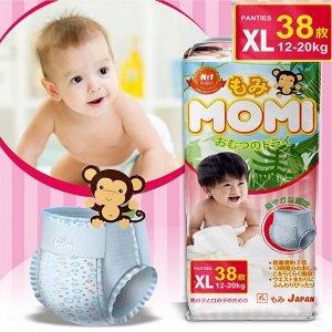 MOMI трусики XL (12-20 кг), 38 шт