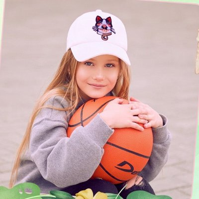 Береты, кепки, перчатки и шарфы от LP. Скидки до 30%🔥  — Бейсболки, кепки для девочек. Скидка 30% — Кепки
