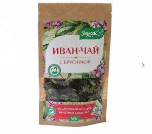 """""""Иван-чай с брусникой листовой ферментированный"""""""