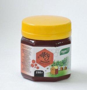 Мед Таежный 250гр пластик Мед натуральный пчелиный цветочный
