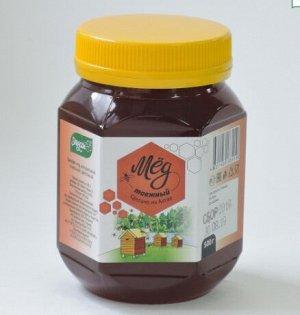 Мед Таежный 500гр пластик Мед натуральный пчелиный цветочный