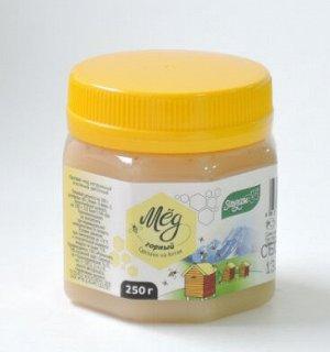 Мед Горный 250гр пластик Мед натуральный пчелиный цветочный