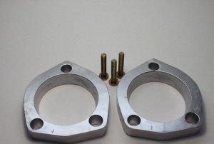 Проставки задние Toyota  1-20м8 для увеличения клиренса 2 см (комплект 2 шт + крепеж)