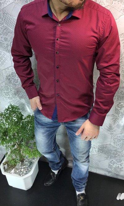 Крутая Распродажа Осень-Зима! Одежда и обувь!  — Мужские рубашки. Качество супер! — Рубашки
