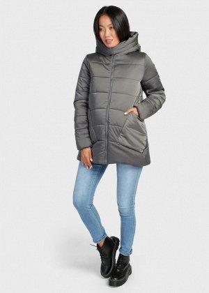 """Куртка зимн. 2в1 """"Бергамо"""" для беременных; маренго"""