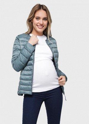 """Куртка демис. 2в1 """"Ультралайт"""" для беременных; можжевеловый"""