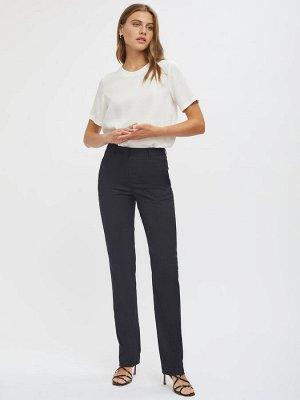 Прямые брюки с высокой посадкой
