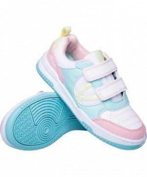 Кроссы. Обувь спортивная Salto JSH105-K, розовый/мятный/желтый, р. 28-35