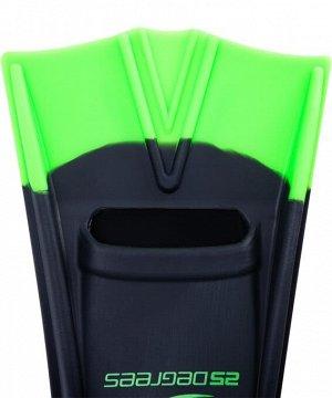 Ласты тренировочные 25DEGREES 25D09-AQ11-20-36 Aquajet Black/Green, XS (30-32)