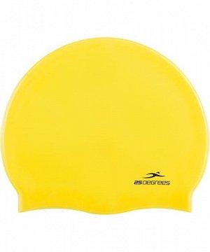 Шапочка для плавания 25DEGREES 25D15-NU16-20-30 Nuance Yellow, силикон