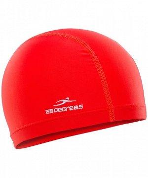 Шапочка для плавания  25DEGREES 25D15-ES19-22-32-0 Essence Red, полиамид, детский