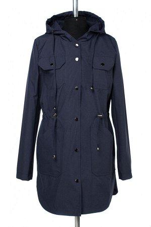 04-2601 Куртка ветровка демисезонная Плащевка темно-синий