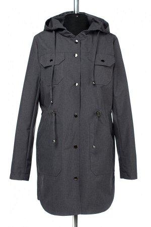 04-2597 Куртка ветровка демисезонная Плащевка серый
