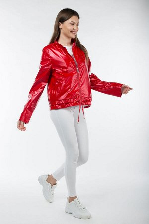 04-2555 Куртка ветровка демисезонная Плащевка красный