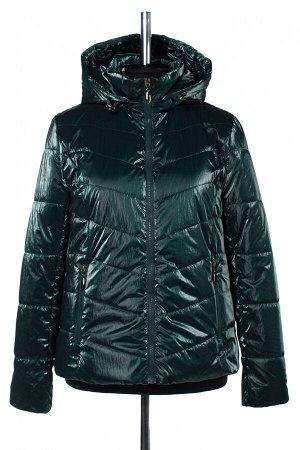 04-2587 Куртка демисезонная (синтепон 100) Плащевка темно-зеленый