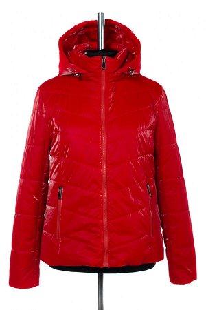 04-2586 Куртка демисезонная (синтепон 100) Плащевка красный