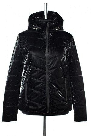 04-2574 Куртка демисезонная (Синтепон 100) Плащевка черный