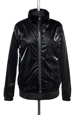 04-2542 Куртка ветровка демисезонная Плащевка черный