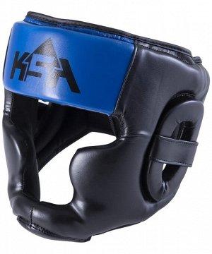 Шлем закрытый Skull Blue, L