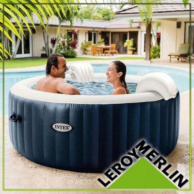 LEROY MERLIN + 5 компаний!  Все для дома, сада, огорода!  — Плавательные круги и матрасы, бассейны для дачи — Садовый декор