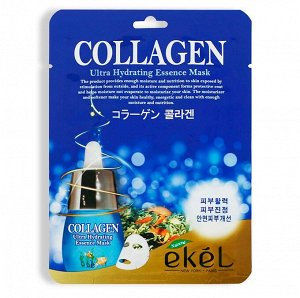 Маска с коллагеном Ekel Collagen Ultra Hydrating Mask
