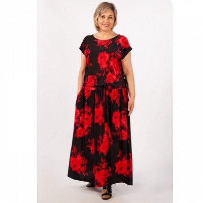 Женская одежда М*и*л*а*д*а - 56. От 50 до 64 размера. — лето-осень — Повседневные платья