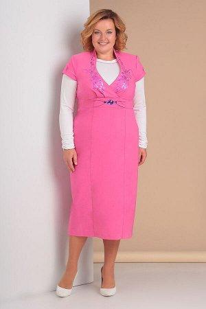 Платье, водолазка Algranda by Новелла Шарм А3077-костюм 2-х предметный