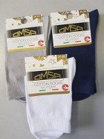 Детские всесезонные эластичные носки OMSA kids Calzino ECO C1001 гладь