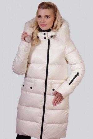 Молочный Зимнее пальто с утеплителем синтепух – один из самых удачных стильных выборов на холодный период для ежедневной носки. Без больших затрат вы приобретете себе зимнюю вещь, которую можно будет